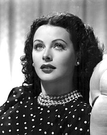 Hedy Lamarr - Womens History Month